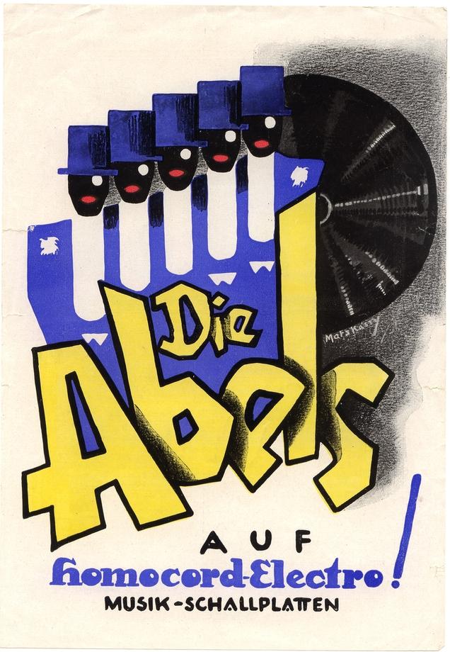 Abels - Farbkarikatur