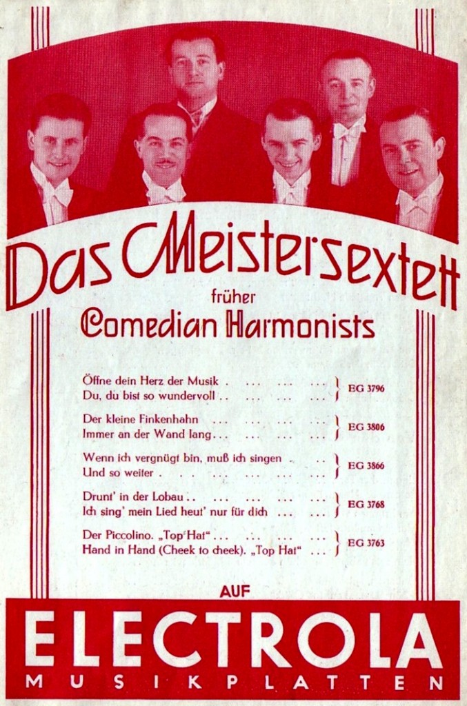 Plattenwerbung (1937)