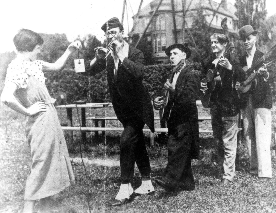 Die 4 Wedding-Boys, rechts Kurt Richter